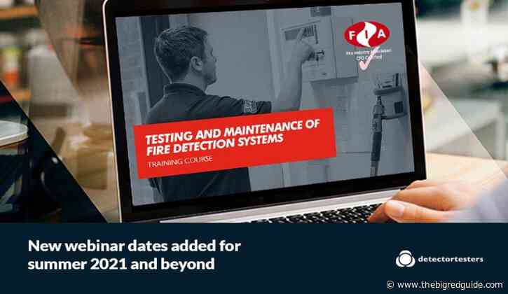 Detector Testers Launch CPD Certified Webinars This Summer