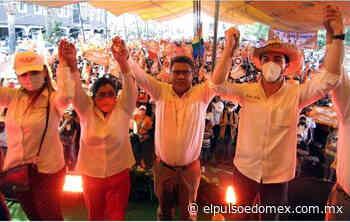 Con éxito rotundo cierra campaña Marco Antonio García en San Mateo Atenco - El Pulso Edomex