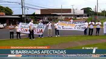 Residentes de La Chorrera piden a las autoridades actuar contra las invasiones de tierra - Telemetro