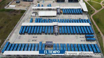 Bogotá ya tiene cuatro patios 100% eléctricos para los nuevos buses - El Tiempo