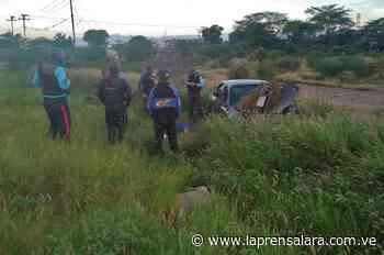 Quíbor: Conductor se queda dormido y vuelca en la avenida Rotaria - La Prensa de Lara