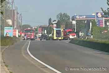 Eén gewonde bij brand in opslagplaats voor hooi - Het Nieuwsblad