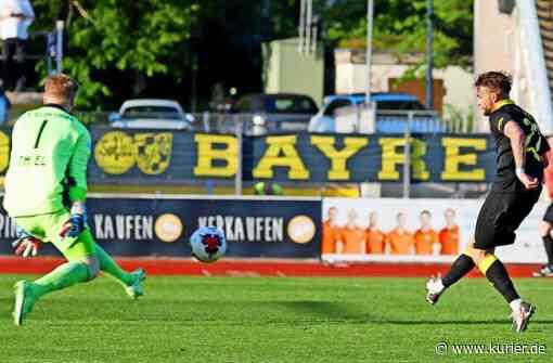 2:1 gegen Illertissen - SpVgg Bayreuth steht im Ligapokalfinale - kurier.de