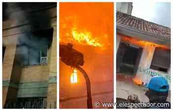 Paro: Palacio de Justicia de Facatativá y otras sedes judiciales incendiadas - El Espectador