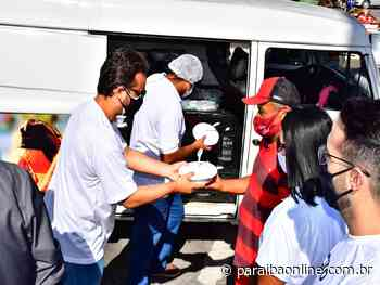 Projeto Prato Cheio começa a beneficiar pessoas em Guarabira com mil refeições diárias • Paraíba Online - Paraíba Online