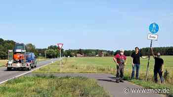 Verkehr und Infrastruktur: Lückenschluss in Rathenow - Böhner Bürgerinitiative erwartet Minister Guido Beermann - moz.de
