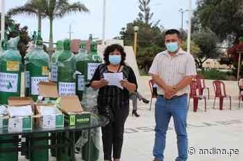 Lambayeque: colectivo Jayanca Respira dona balones de oxígeno para casos covid-19 - Agencia Andina