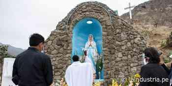 """Remodelan sagrada gruta """"Nuestra Señora de Lourdes"""" en Ascope - La Industria.pe"""