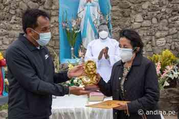 La Libertad: remodelan gruta de Nuestra Señora de Lourdes de Ascope - Agencia Andina