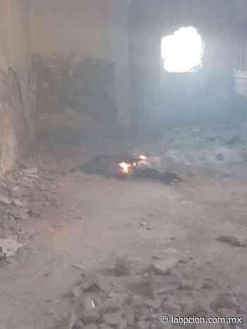 Arde basura en el templo santo tomás - La Opcion