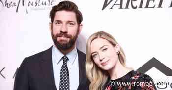 John Krasinski & Emily Blunt's Kids Hazel & Violet Are Precious - Romper