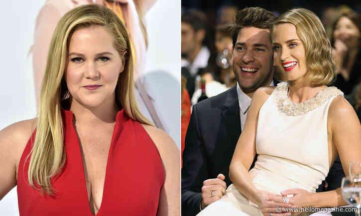 Amy Schumer brands Emily Blunt's marriage to John Krasinski a PR stunt – see his response - HELLO!