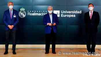 La Fundación Real Madrid y la Universidad Europea renuevan su alianza por el deporte educativo - Real Madrid