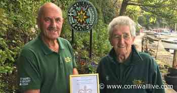 Queen rewards Cornwall volunteers who created a beautiful riverside haven in Truro - Cornwall Live