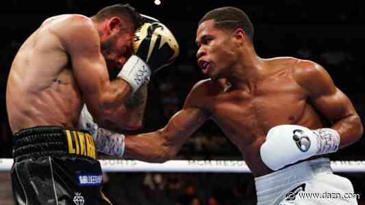 Devin Haney has the best jab in boxing, claims Sergio Mora - DAZN News US
