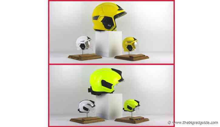 Firefighter Creates Bespoke Miniature Replica Helmet Gifts Exclusively For The Fire Fighters Charity