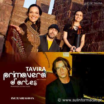 Tavira Primavera D' Artes continua com Helena Madeira Trio Tavira e Luís Conceição - Sul Informacao