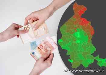 La mappa dei redditi nel Varesotto comune per comune: Galliate, Luvinate e Barasso sul podio - varesenews.it