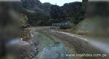Caylloma: Piden intervención de Arma por contaminación minera en chacras de Lluta - Los Andes Perú
