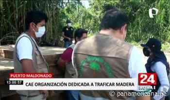 Puerto Maldonado: cae banda integrada por ex funcionarios regionales - Panamericana Televisión