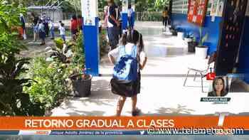 Estudiantes de Rincón Largo de Soná iniciaron sus clases semipresenciales - Telemetro