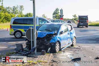 31.05.2021 - Grevenbroich Vierwinden - Verkehrsunfall zwischen 2 PKW fordert 2 verletzte Personen - Emergency-Report.de