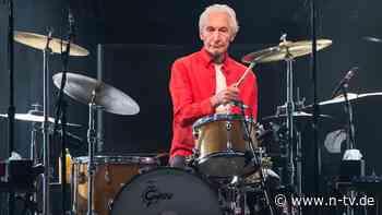 Der Motor der Rolling Stones:Charlie Watts will doch nur spielen - n-tv NACHRICHTEN