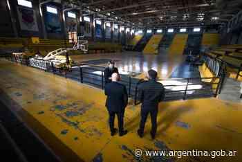 Nuevo Polideportivo en Puerto Madryn - Argentina.gob.ar Presidencia de la Nación