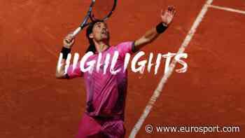 French Open tennis - Highlights: Fabio Fognini downs Marton Fucsovics to advance at Roland-Garros - Eurosport.com