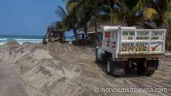 Joven de 19 años se ahoga al ser arrastrado por olas en Puerto Escondido - Noticieros Televisa