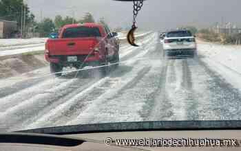 Estado Videos: Cae más granizo, ahora en Santa Isabel - El Diario de Chihuahua