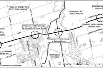 Barrie, Innisfil's stance on Bradford Bypass deemed a 'win' by Rescue Lake Simcoe group - BradfordToday