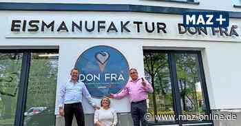 In Falkensee gibt es jetzt die neue Eismanufaktur Don Frà. - Märkische Allgemeine Zeitung