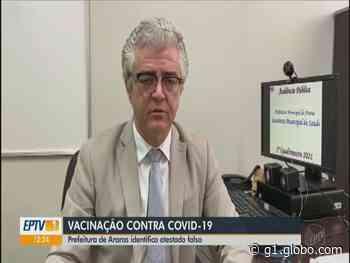 Casal tenta vacinar filho contra Covid-19 com atestado falso em Araras, diz prefeitura - G1
