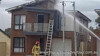 Firefighters battle house fire in Minto - Campbelltown Macarthur Advertiser