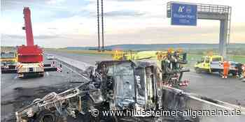 Schwerer Unfall auf A 7 bei Bockenem: Fahrbahn bleibt gesperrt - www.hildesheimer-allgemeine.de