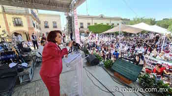 Celia Maya desconoce encuesta de la UAQ - Rotativo de Querétaro