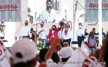 Ya llegó la 4T a Querétaro: Celia - Diario de Querétaro