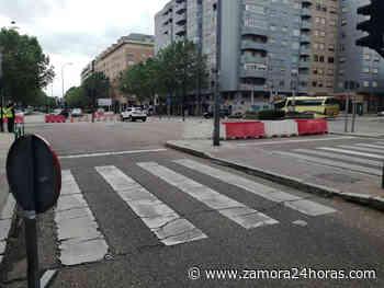 VÍDEO   Las obras de Cardenal Cisneros condicionan el tráfico desde este martes - Zamora 24 Horas