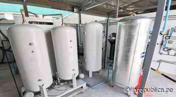 Piura: el día de mañana llegarán dos plantas de oxígeno a Sechura - LaRepública.pe