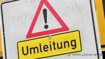 Verkehrskollaps droht: Wichtige Verbindungsstraße im MK soll komplett gesperrt werden - come-on.de