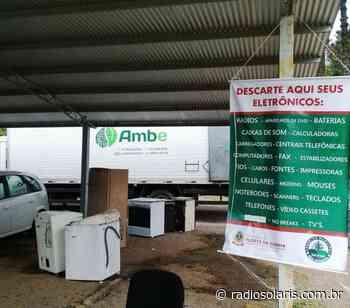 Campanha de recolhimento de eletroeletrônicos ocorre em Flores da Cunha | Grupo Solaris - radiosolaris.com.br