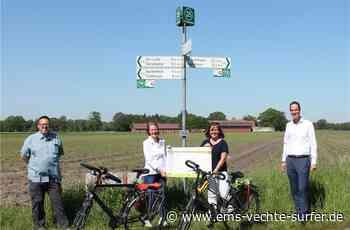 Knotenpunktsystem für Radfahrer bald auch in der Grafschaft - Ems Vechte Surfer
