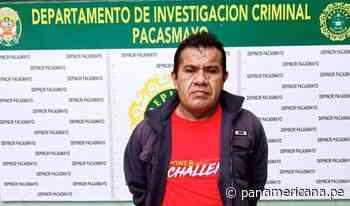 Pacasmayo: capturan sujeto que chantajeaba a mujer con publicar fotos y videos íntimos - Panamericana Televisión