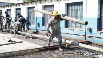 Construyen dos nuevos jardines en Monte Grande - El Diario Sur