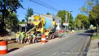 Mejoran el asfalto en avenidas de Monte Grande - El Diario Sur