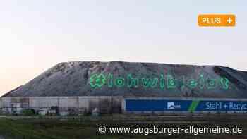 Aktivisten protestieren mit Laser gegen Rodung des Lohwalds - Augsburger Allgemeine