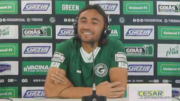 Apodi é apresentado e pode estrear pelo Goiás já nesta sexta - globoesporte.com
