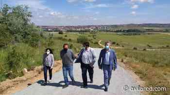 El atajo al santuario de Sonsoles, el primero de una treintena de caminos que se arreglarán - Avilared
