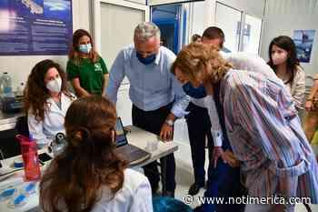 La Reina Sofía visita el Santuario de Vida Marina Aegean en Lipsi (Grecia) que atiende animales enfermos y heridos - www.notimerica.com